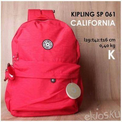 KIPLING CALIFORNIA K RED MERAH