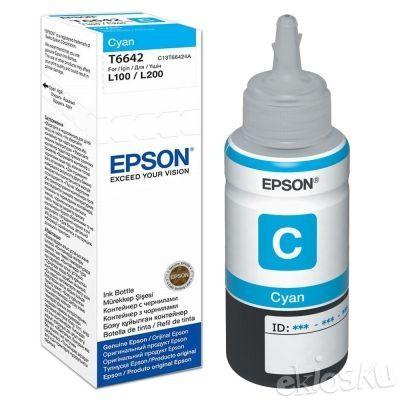Epson T664 Cyan ink bottle 70ml (Tinta Epson)