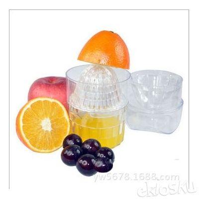 Alat Peras Jeruk Manis Manual Praktis Gelas Pemeras JuicePress Plastik