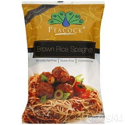 Food Organic Brown Rice Spaghetti