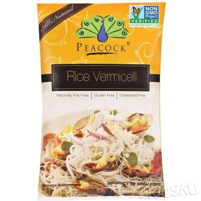 Food Organic Brown Rice Vermicelli