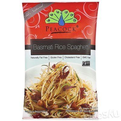 Food Organic Basmati Rice Spaghetti
