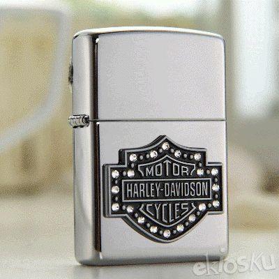 ZIPPO 28349 Harley Davidson Shield Emblem ORIGINAL USA | Stok LENGKAP Garansi Resmi