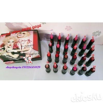 Lipstick mac 7237 lady gaga