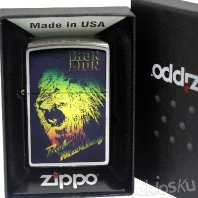 ZIPPO 28844 Bob Marley ORIGINAL USA | Stok LENGKAP Garansi Resmi