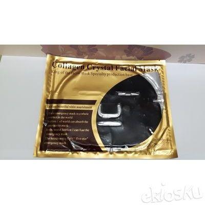 Bio Gold Crystal Face Mask Collagen black , masker wajah , masker wajah topeng