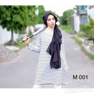 Tunic Monochrome Panjang