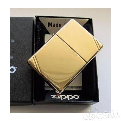 Zippo 270 Vintage Brass Original Made In USA | Koleksi Lengkap Garansi Resmi