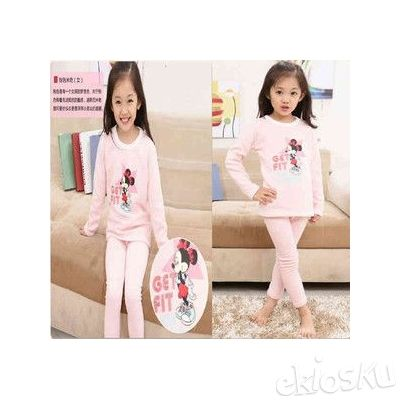 STKD102 - Setelan Anak Minnie Mouse Get Fit