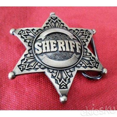 Sabuk Buckle Sheriff