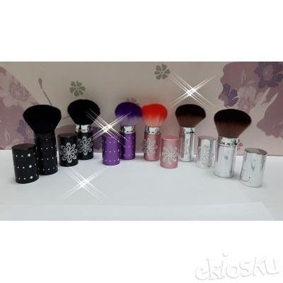 kuas make up , kuas set , brushes set unik bahan bulu sintetis