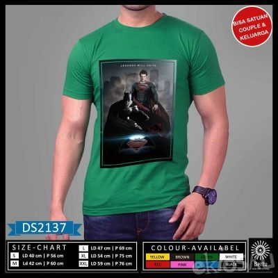 Produk Kaos Legend Superman Vs Batman
