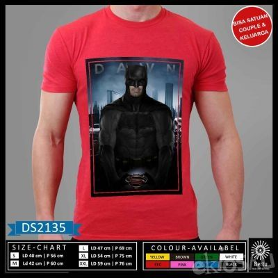 T-Shirt Dawn Batman Vs Superman