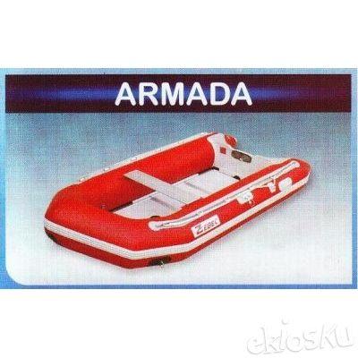 Perahu karet / rubber boat Zebec armada 350A