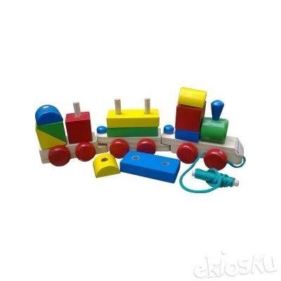 Kereta Warna - Mainan Edukatif