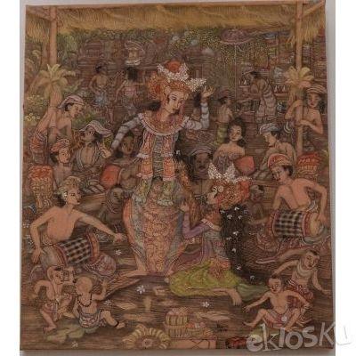 Lukisan Bali ( medium )