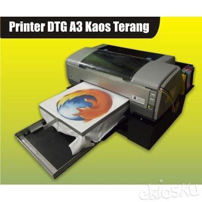 Printer DTG A3 Kaos Terang