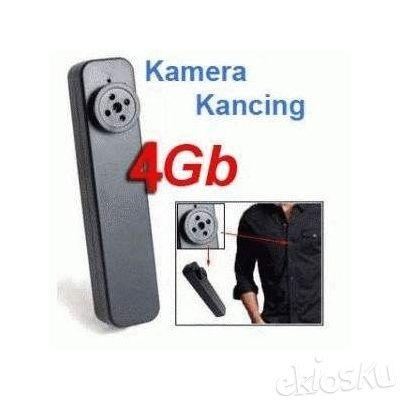 KAMERA KANCING BAJU BUILT IN MEMORY 4 GB