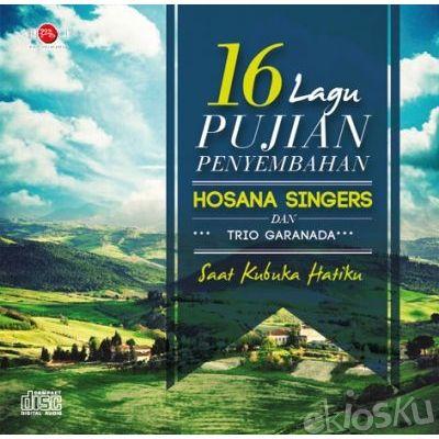 CD ROHANI 16 LAGU PUJIAN HOSANA SINGERS