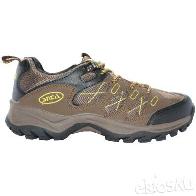 Sepatu Gunung/Hiking SNTA 411 Brown Yellow