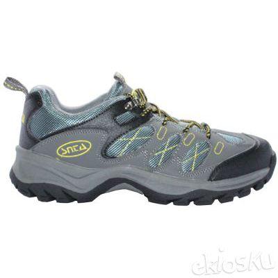 Sepatu Gunung/Hiking SNTA 411 Grey Yellow