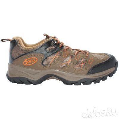 Sepatu Gunung/Hiking SNTA 411 Brown Orange