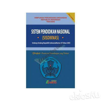 Sistem Pendidikan Nasional Edisi Revisi