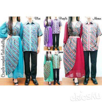 Batik Sarimbit - Couple Songket Salsabila R-HM5034