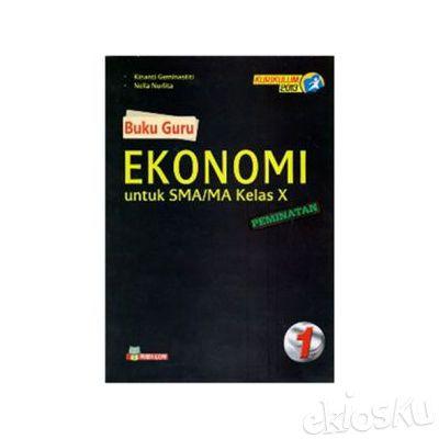 Buku Guru Ekonomi Peminatan SMA-MA Kelas X Kurikulum 2013