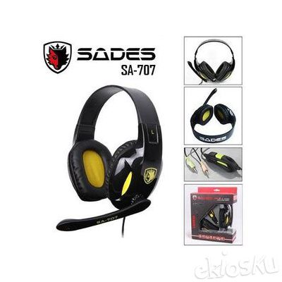 Headset Gaming Sades SA-707