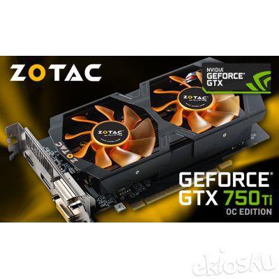 ZOTAC GTX 750 TI OC 2GB DDR5 128-bit