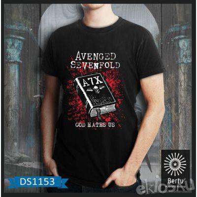 T-shirt Pria God Hate Us Avenged Sevenfold