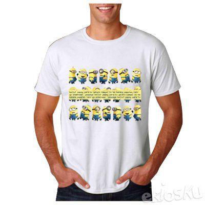 T-shirt Minions Speak their Language