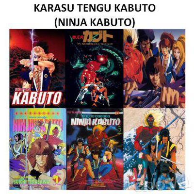 KARASU TENGU KABUTO / NINJA KABUTO TV SERIES 1990 COMPLETE COLLECTION