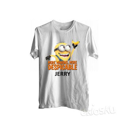 Baju Pria More Minion More Despicable Jerry