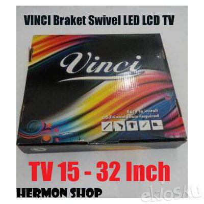 BRACKET SWIVEL LCD LED TV VINCI 15 - 32""