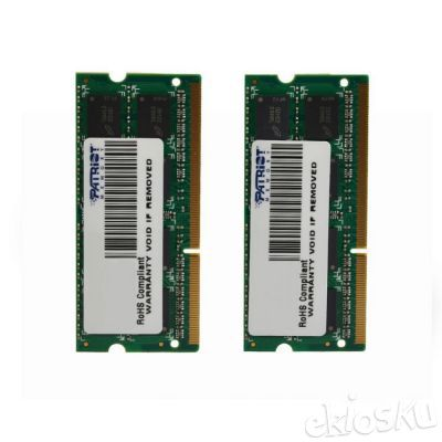 Patriot Memory DDR3 8GB - 2 x 4GB - SODIMM Kit PSA38G1600SK for MAC (EP10)