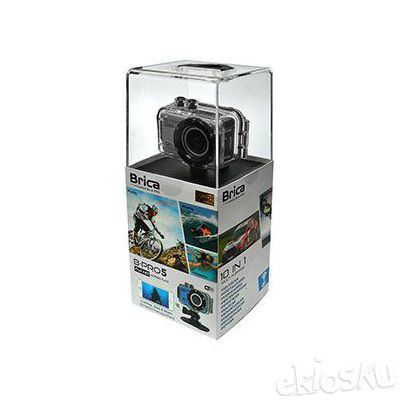 BRICA - ACTION CAM B-PRO5 (Black, Silver, Green, Yellow, Red)