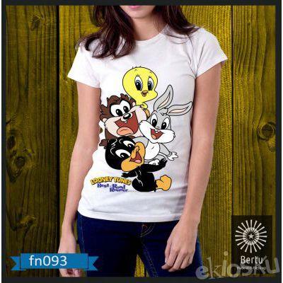Kaos Wanita Donald Duck And Friend Kode : FN093