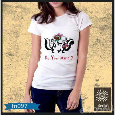 Kaos Wanita Tupai Looney Tunes Kode : FN097