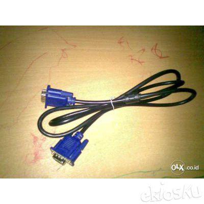 Kabel Vga Male To Male 1 Meter ( Daerah Dago Bandung )