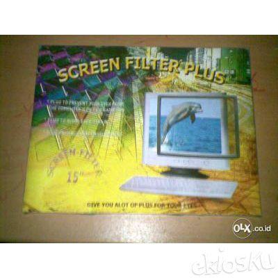 Screen Filter Monitor Tabung ( Daerah Dago Bandung )