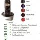 Panasonic DECT (digital enhanced cordless telephone) KX-TG1311