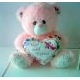 boneka teddy bear, teddy bear lucu, teddy bear pink