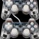 GamePad Double Shock USB Transparant