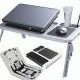 Meja Laptop Portable Laptop Desk With 2 Fan Cooler