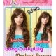 kanari-hime Curly Wig 70cm Medium Brown