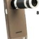 8X Zoom Mobile Phone Telescope + Crystal Case for Samsung Galaxy S II / i9100