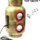 Gas Tanh Small Function Mobile Audio Speaker (Golden)