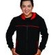 Sweater Raindoz black red 2